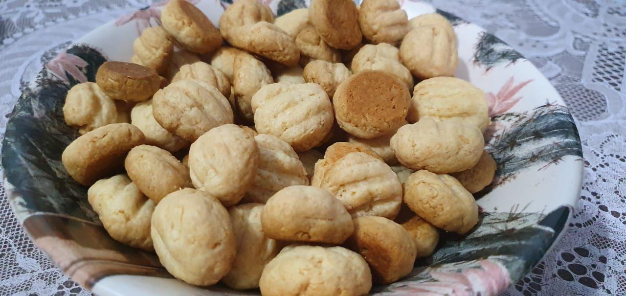 Biscoito de queijo ralado e requeijão