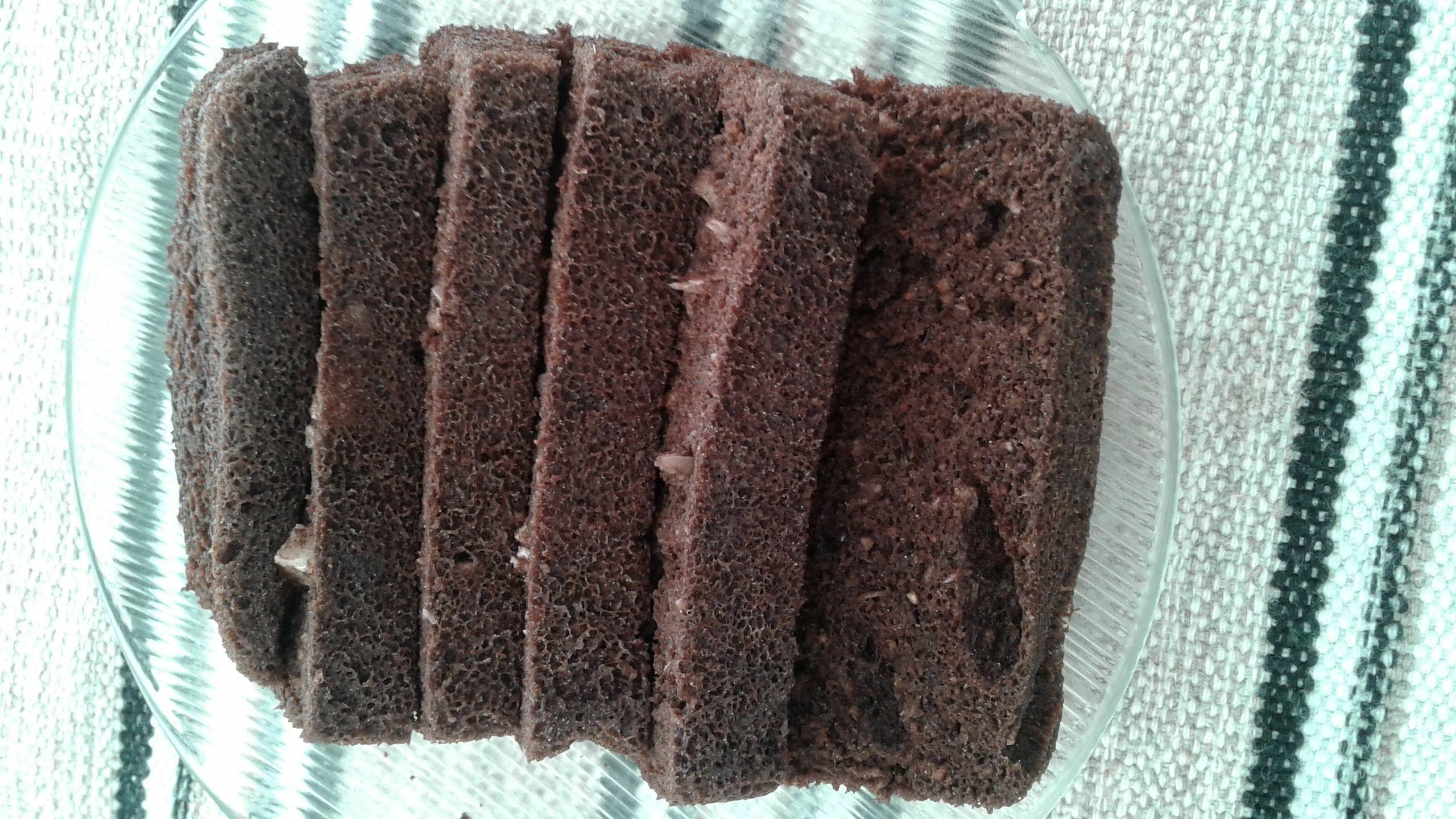Bolo de chocolate lowcarb