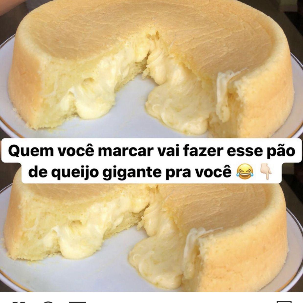 Bolo de pão de queijo fácil