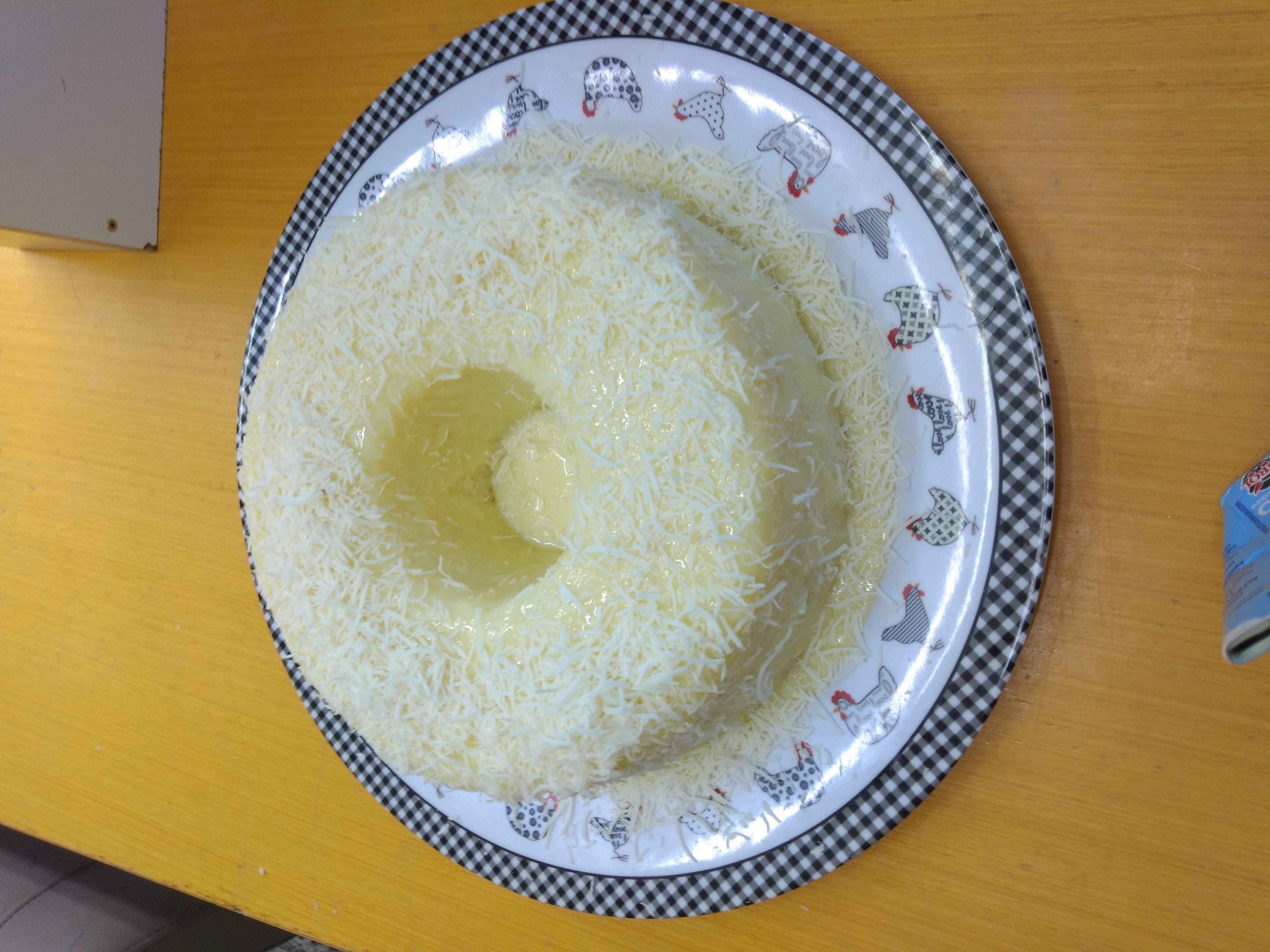 Bolo de tapioca granulada