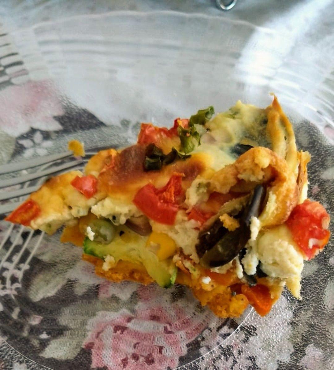 Deliciosa torta de legumes e ricota