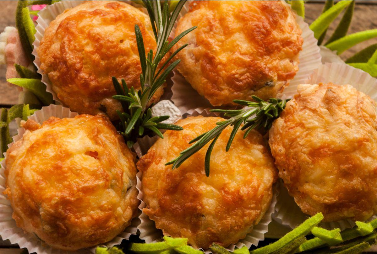 Muffin salgado low carb