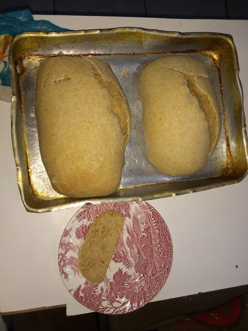 Pão caseiro demais