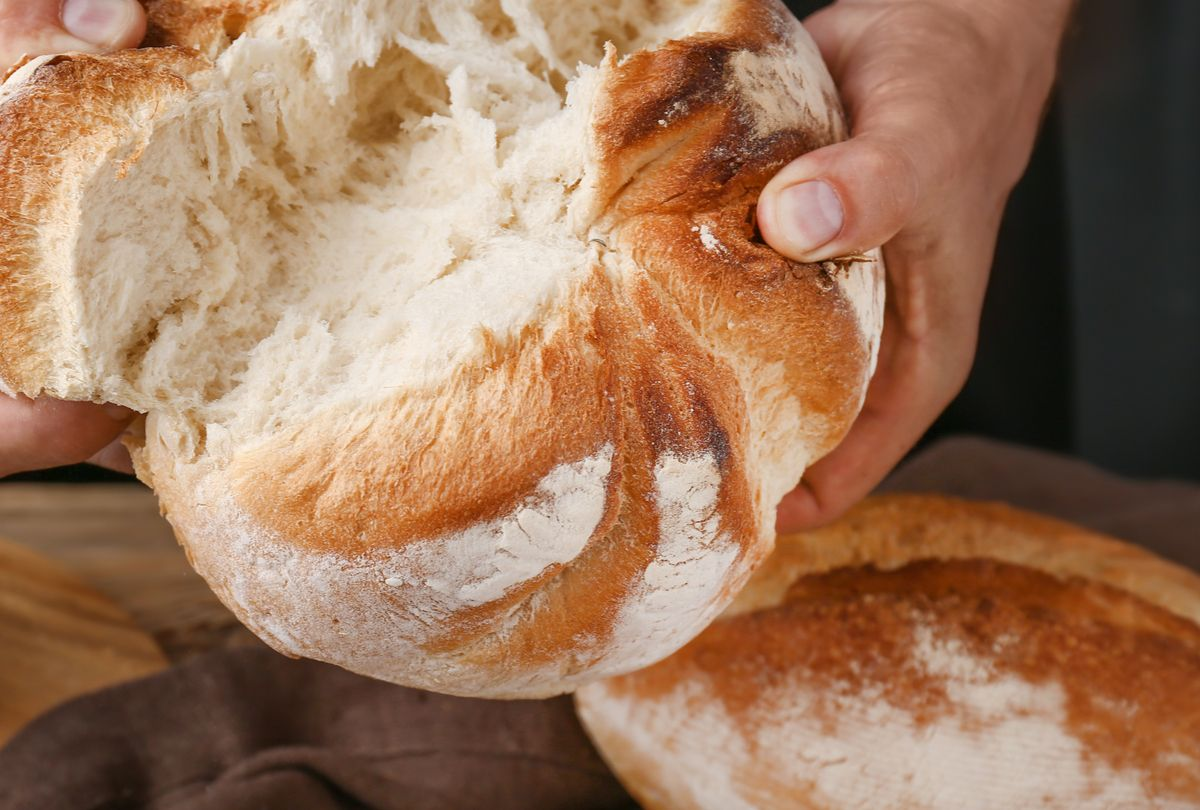 Pão de liquidificador fofinho