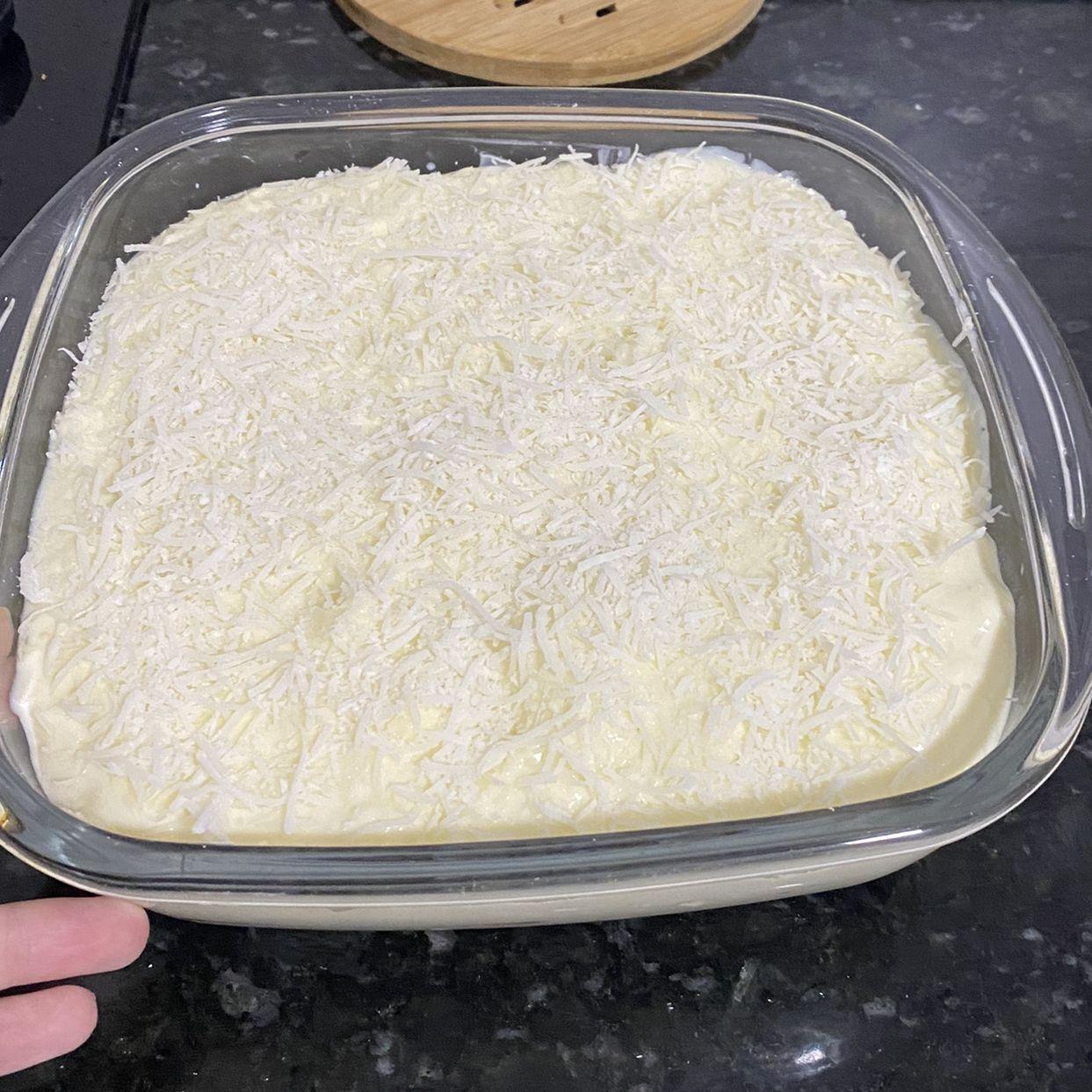 Pavê gelado de creme branco