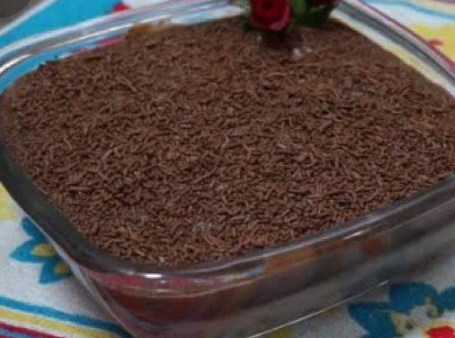 Pavê mousse de chocolate fácil