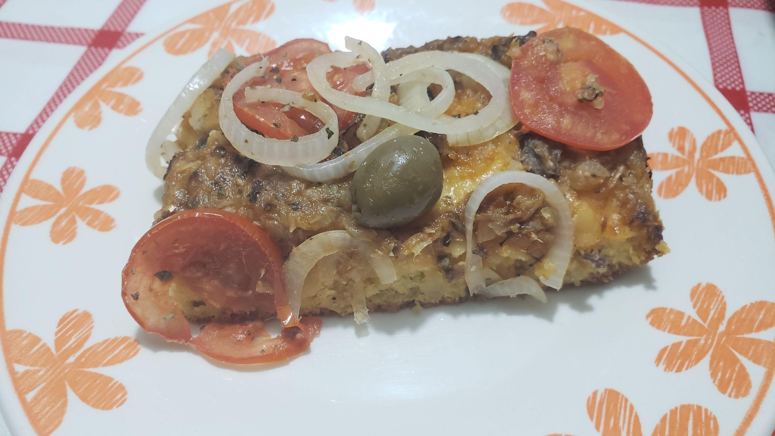 Pizza mais fácil do Mauricio