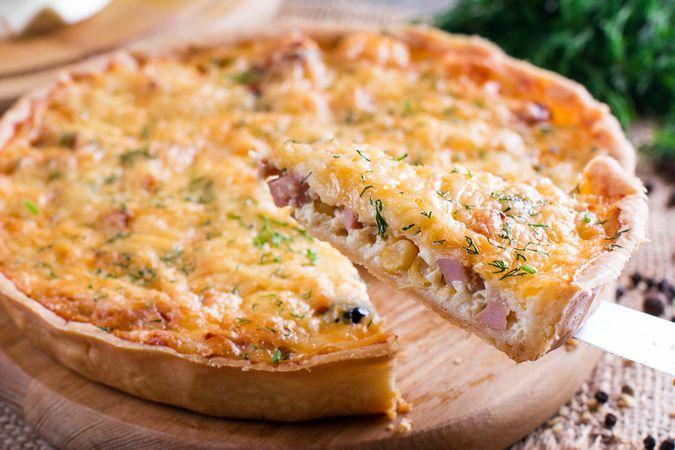 Torta de queijo Bia